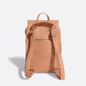 Pixie Mood Kim Backpack Apricot Back