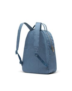 Herschel Supply Co Nova Backpack Mid-Volume Blue Mirage Crosshatch Back