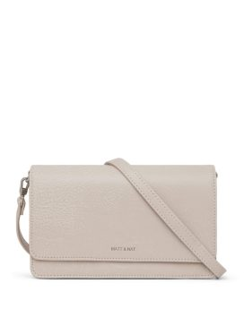 Matt and Nat Bee Crossbody Dwell Collection Koala Matte Nickel Front SS20
