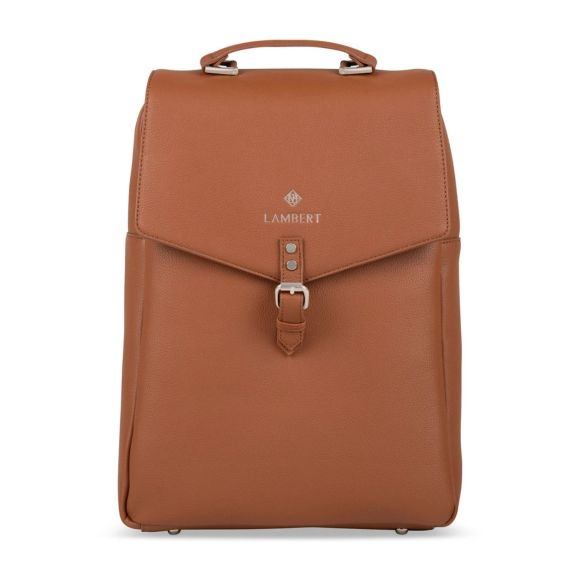Lambert Jade Backpack Tan Front