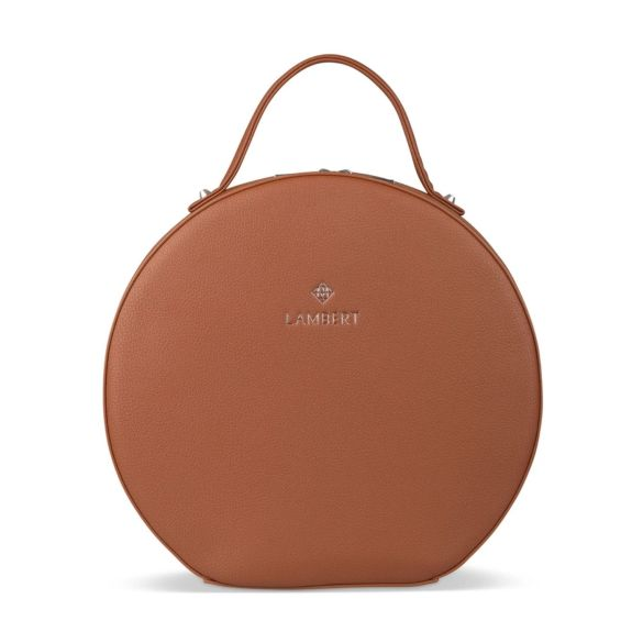 Lambert Olivia Backpack Tan Front