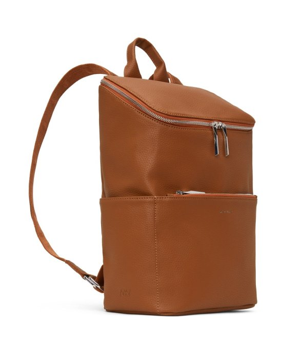 Matt and Nat Brave Backpack Purity Collection Carotene Side