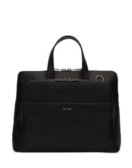 Matt and Nat Cassidy Satchel Dwell Collection Black Front