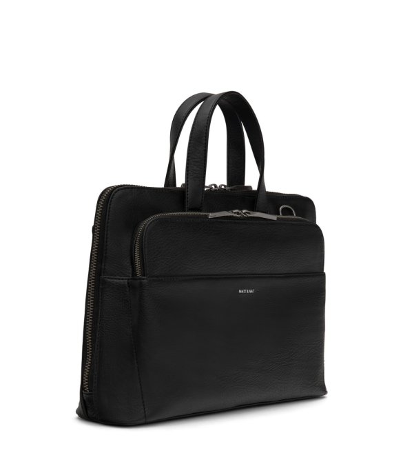 Matt and Nat Cassidy Satchel Dwell Collection Black Side