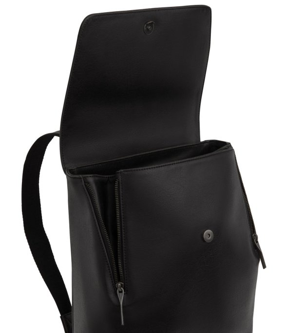 Matt and Nat Fabi Backpack Vintage Collection Black FW20 Inside
