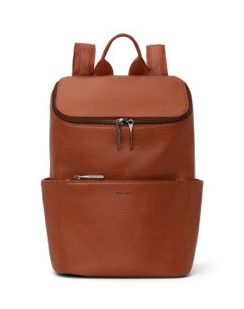 Matt and Nat Brave Backpack Dwell Collection Chai Front