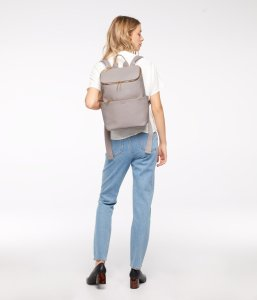 Matt and Nat Brave Backpack Dwell Collection Chai Model