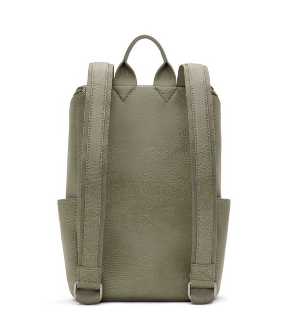 Matt and Nat Brave Backpack Dwell Collection Matcha Back