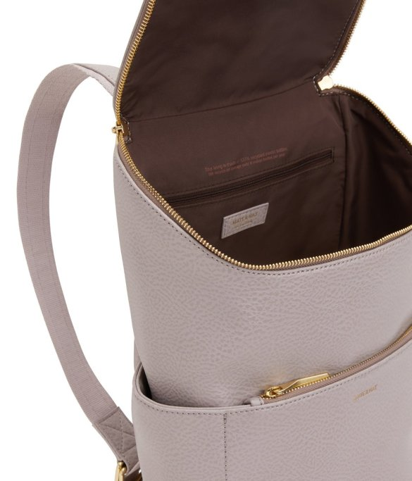 Matt and Nat Brave Backpack Dwell Collection Serene Inside