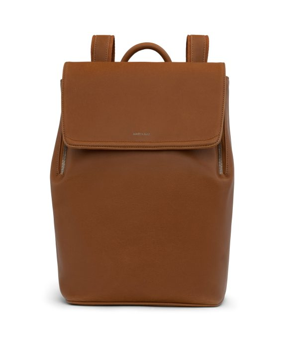 Matt and Nat Fabi Backpack Vintage Collection Chili Matte Nickel Front