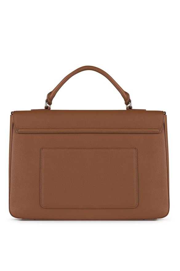 Lambert Alex Briefcase Tan Back