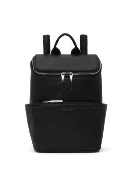 Matt and Nat Brave Backpack SM Small Purity Collection Black Front