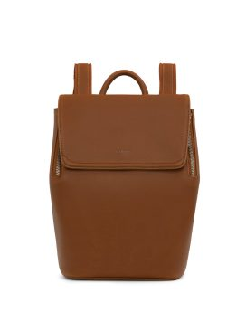 Matt and Nat Fabi Mini Backpack Vintage Collection Chili Matte Nickel Front