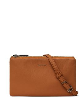 Matt and Nat Triplet Crossbody Purity Collection Carotene Front