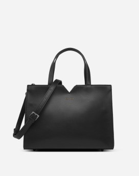Pixie Mood Aurora Satchel Black Front