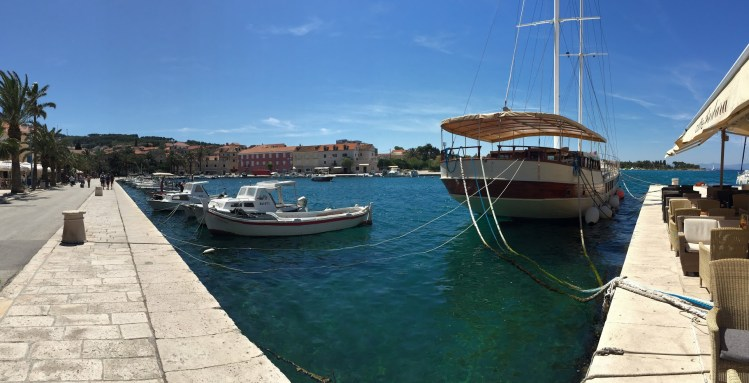Brac Harbour, Croatia