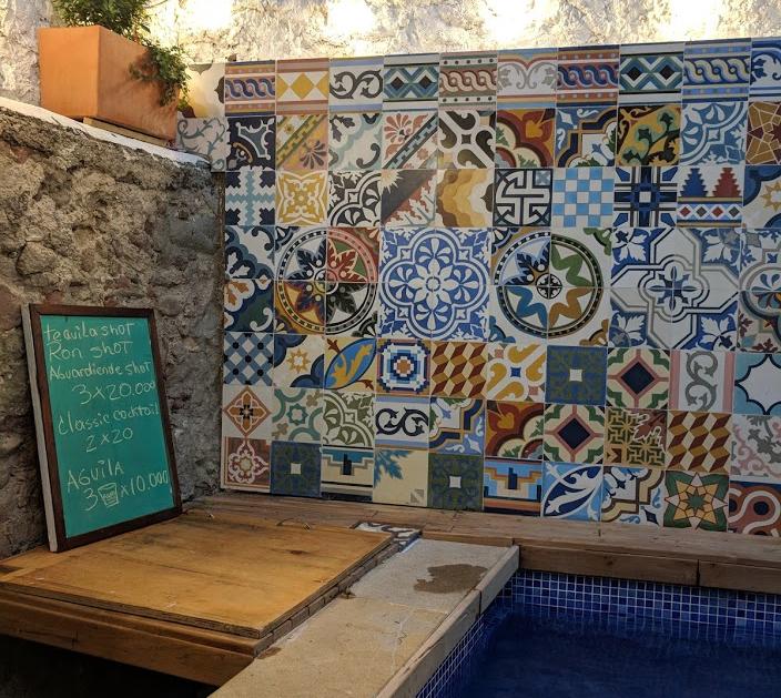 Casa del Pozo Hostel, Cartagena, Colombia