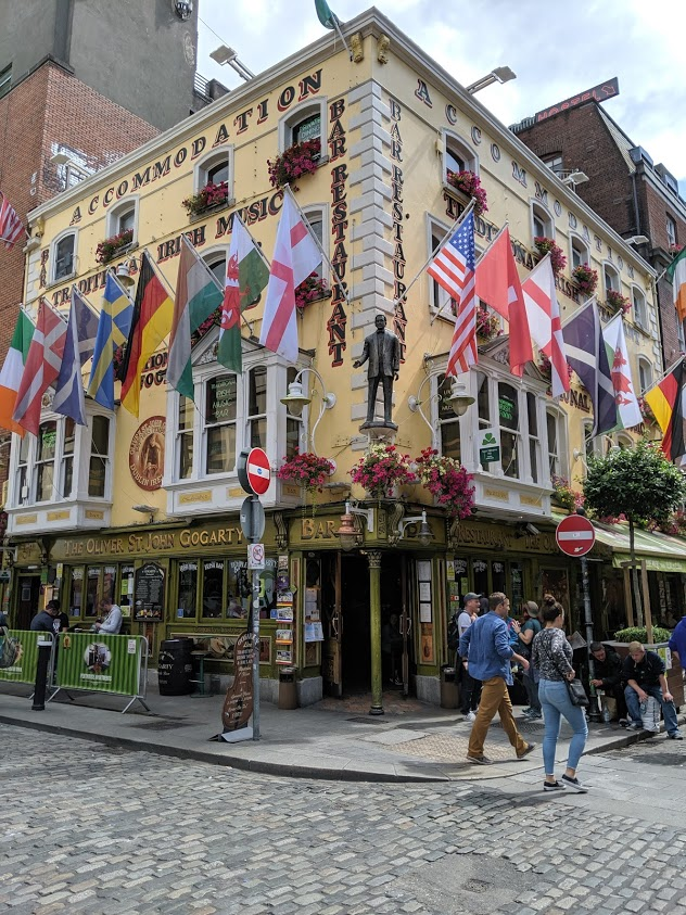 Pub in Dublin city centre