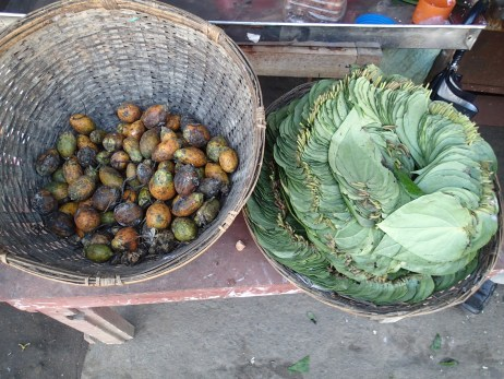 Betel nuts and leaves. This photo was taken at a market, not on the walk.