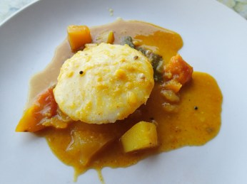 Idli sambhar. This has redefined the way I think about breakfast.