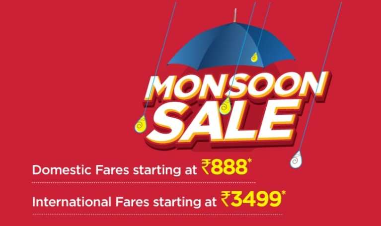 Spicejet Monsoon Sale Offer 2019