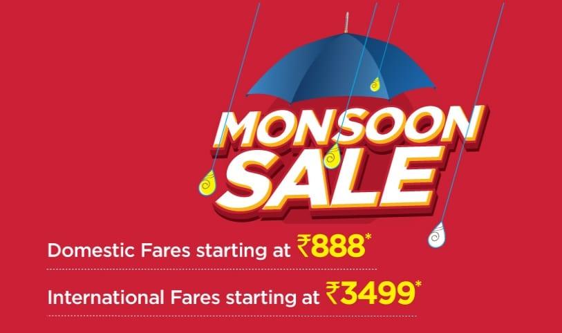 Spicejet Monsoon Sale Offer 2019