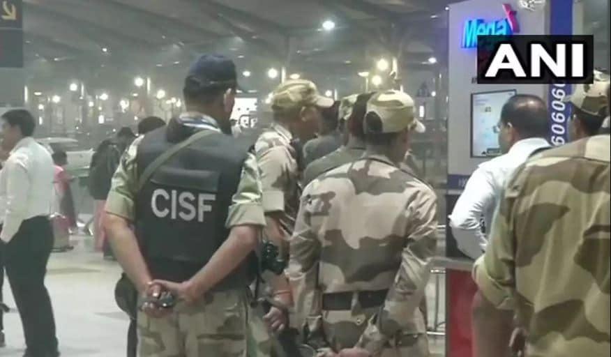 RDX Found at Delhi Airport