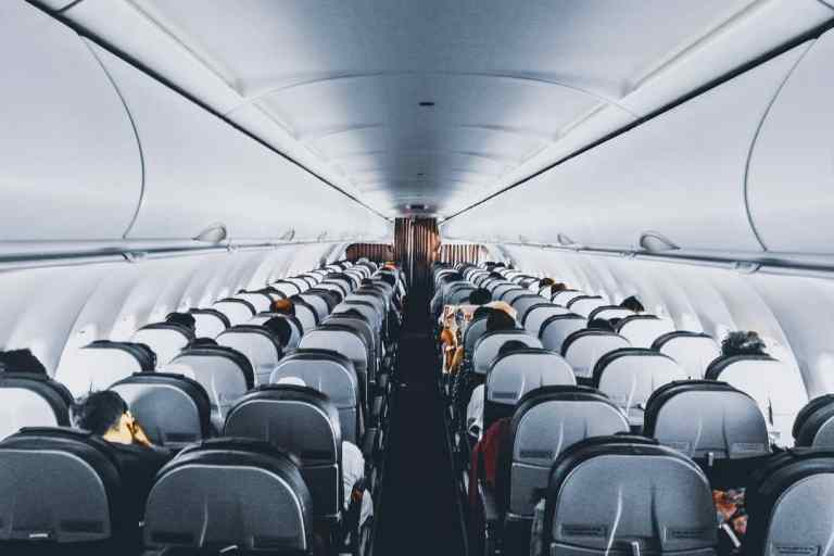Airlines middle seat vacant