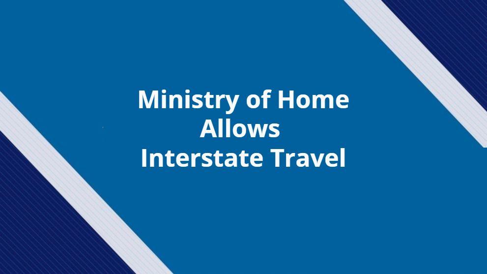 MHA Allows Interstate Travel