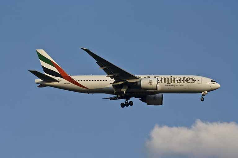 Emirates four years flying to entire network