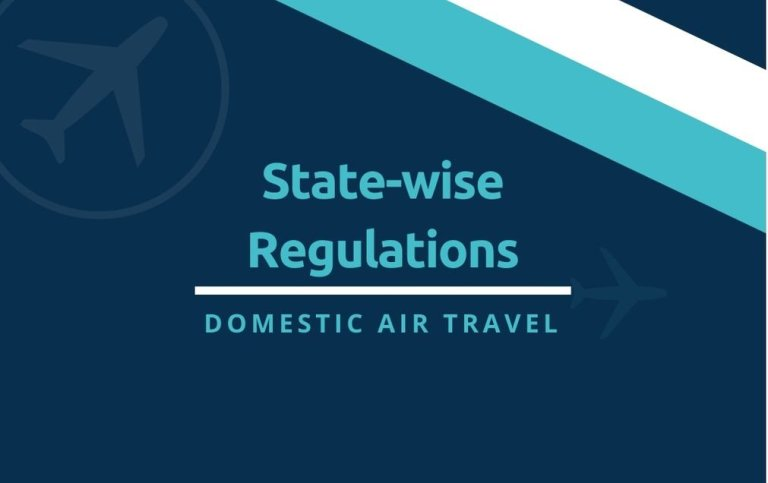 State-Wise Regulations for Domestic Air Travel