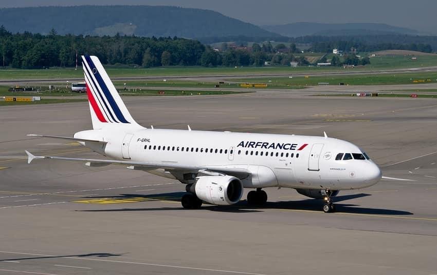 Air France Unitad Airlines Flight India