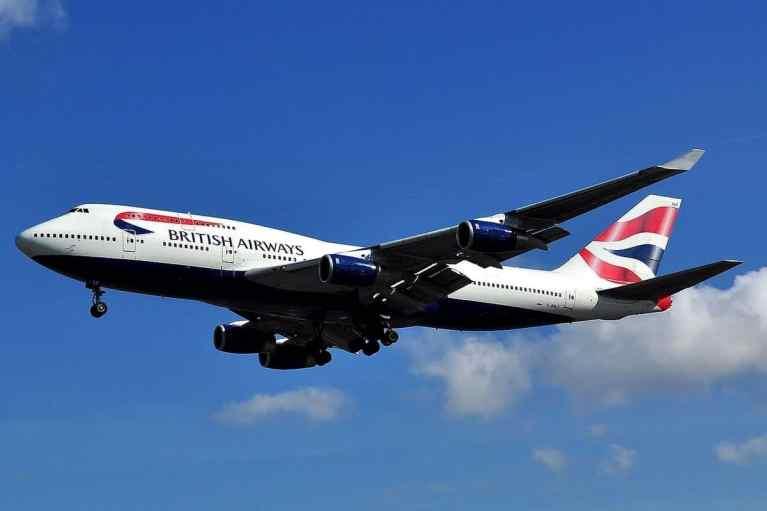 British Airways Farewell Boeing 747 Aircraft
