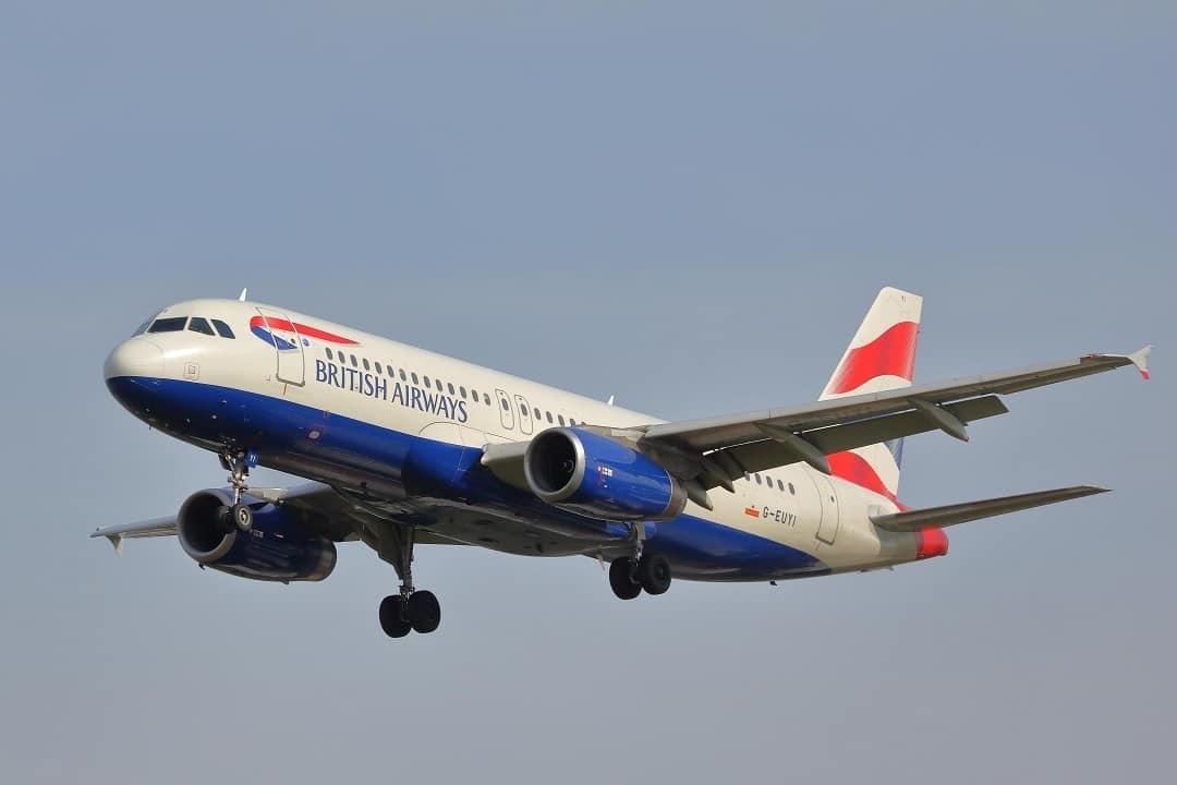 British Airways Flight India UK