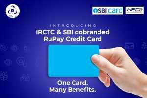 IRCTC Contactless Credit Card