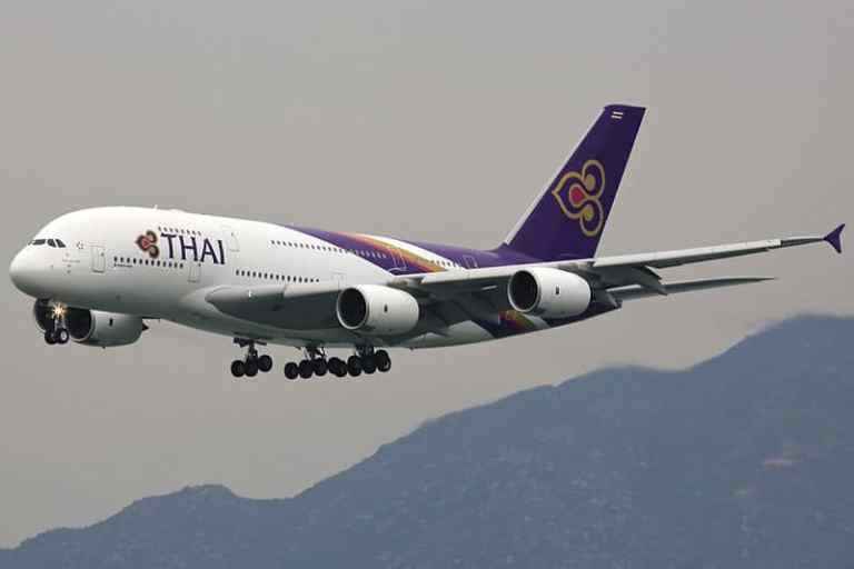 Thai Airways Suspends International Flights September