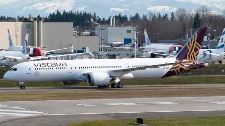 Vistara May Resume International Flights By Year-End