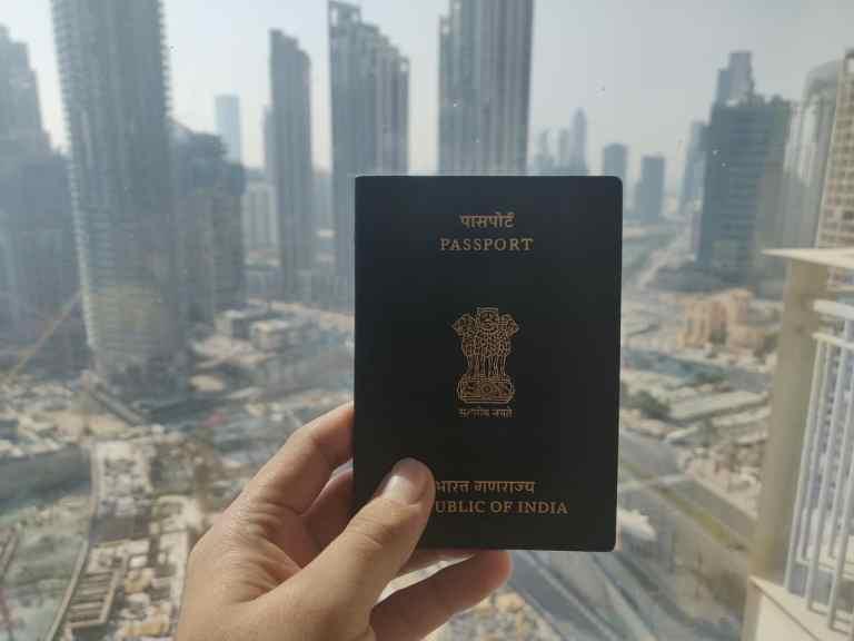 Indian UAE On Any Visa