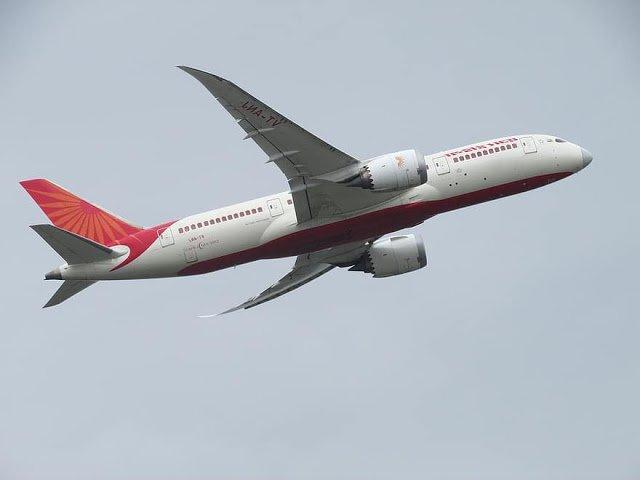 South Australia Air India Flight