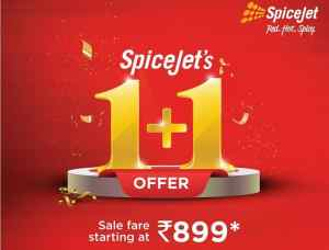 SpiceJet Offer Domestic Flight 899
