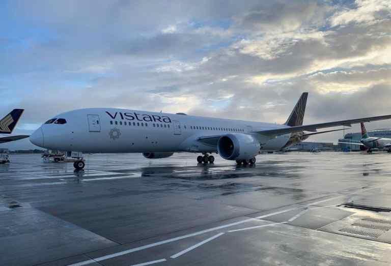Vistara First Long-haul Flight