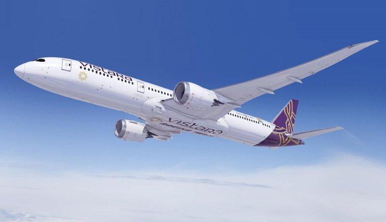 Vistara Flights Delhi London