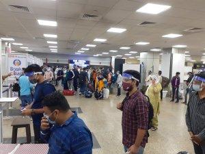 quarantine rules delhi mumbai airport