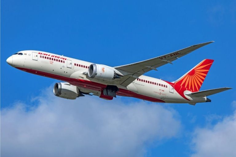 Air India Kolkata London Flight