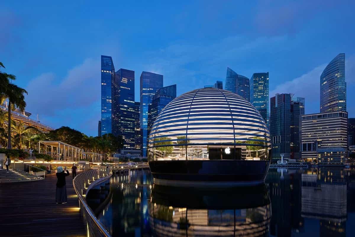 Apple Floating Store Singapore