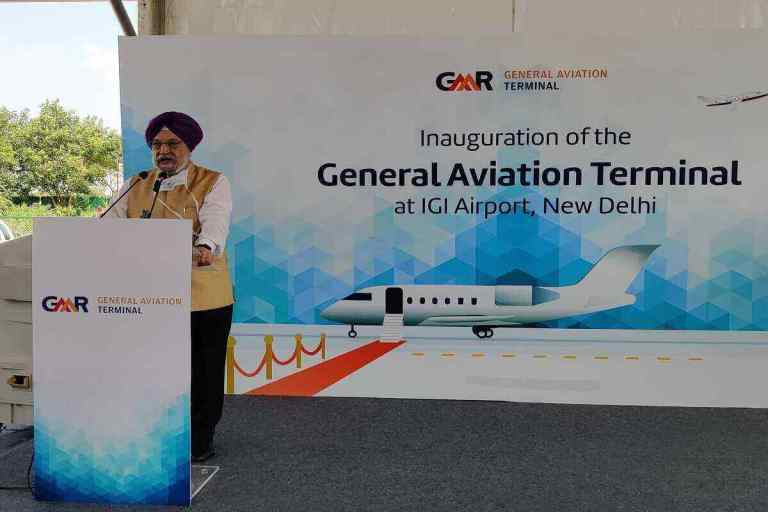 India's 1st Private Jet Terminal