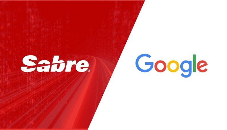 Sabre Google AI Technology Travel