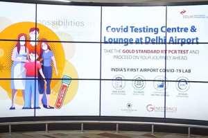 Delhi Airport Starts COVID-19 Testing