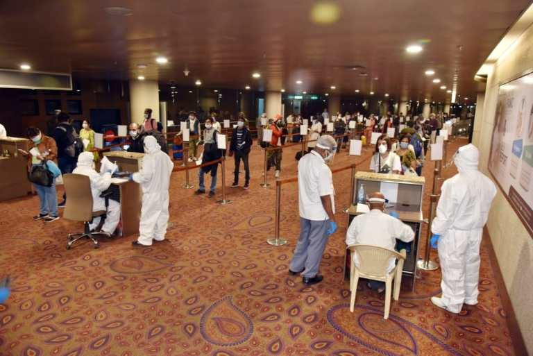 489 Passengers Quarantined At Mumbai Airport