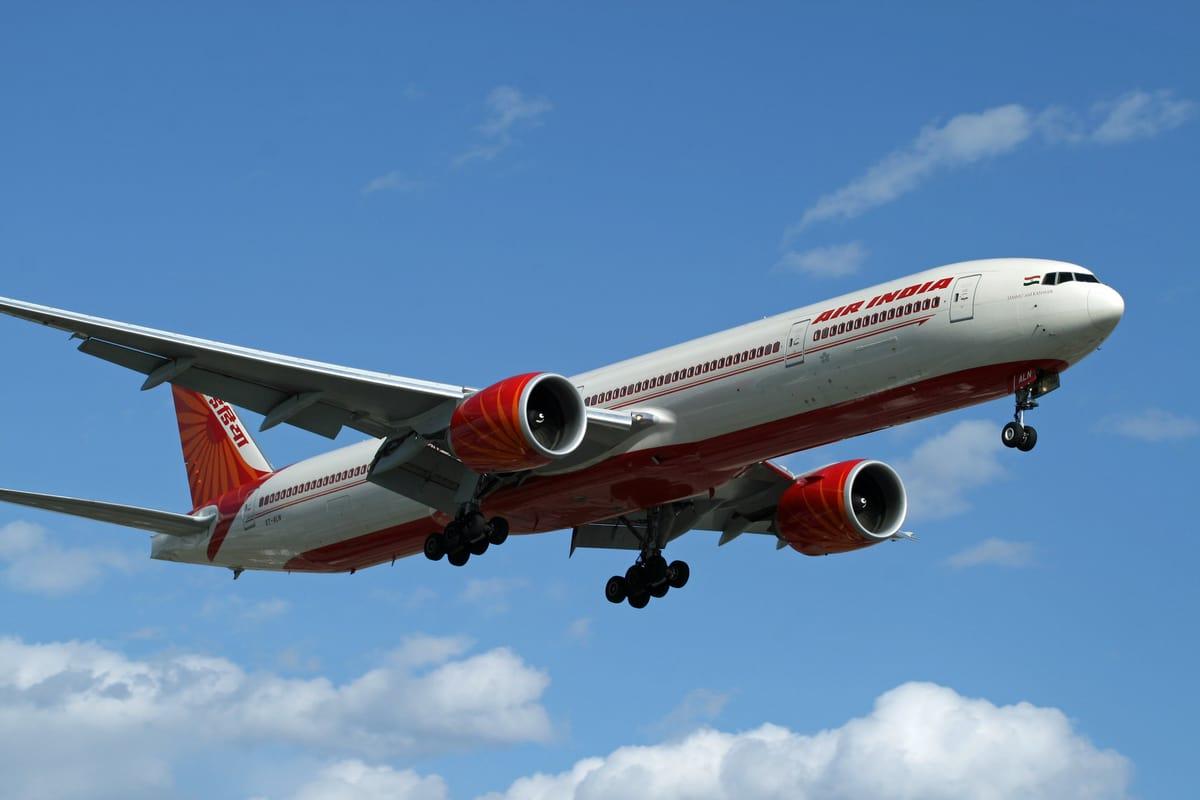 Air India Flight Hyderabad to Chicago